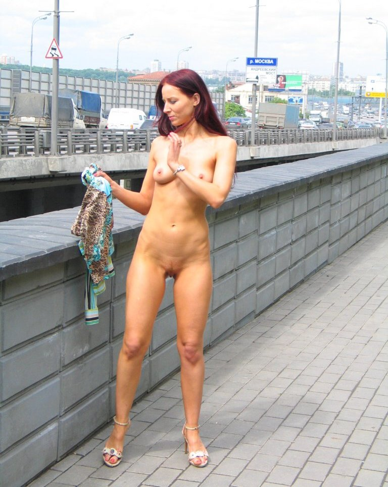 shaved Russian milf