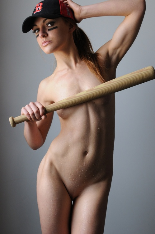hot baseball nude
