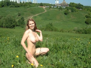 Amateur-russian-girl-takes-off-her-dress-and-posing-naked-at-public-park-15