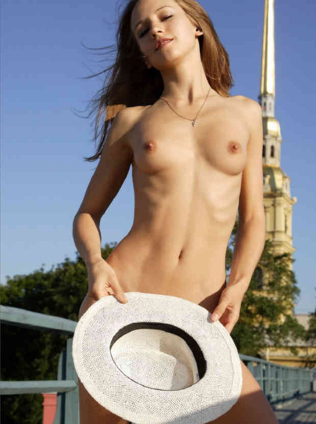 Skinny russian brunette girls nude