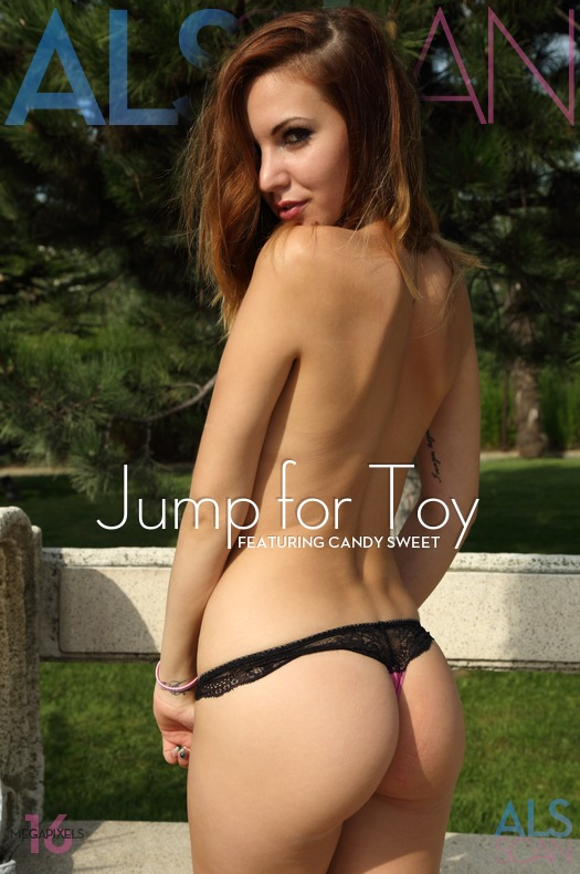 Jump for Toy with Candy Sweet